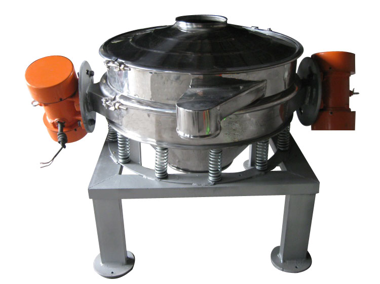Double motor direct discharge sifter