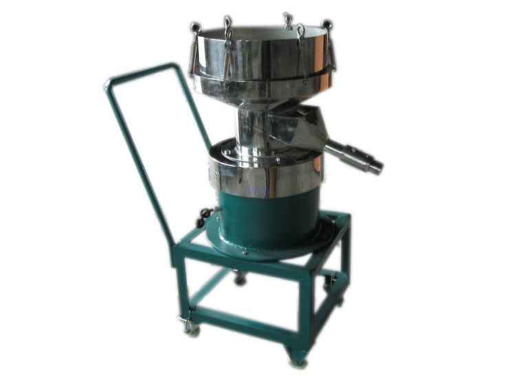 filter sieve with trolley