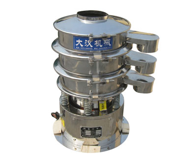 Small diameter vibrating sieve