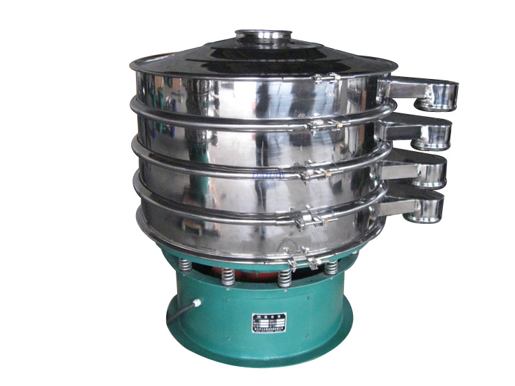 Multilayer vibrating sieve